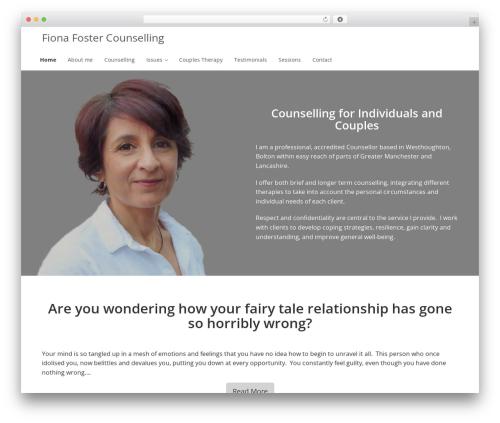 Enlightenment template WordPress - fionafostercounselling.co.uk