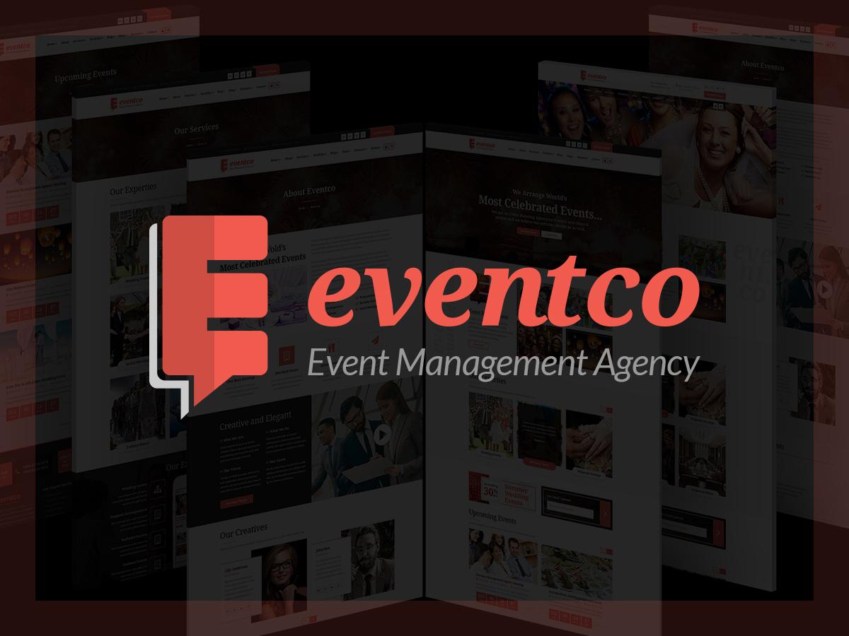 Eventco top WordPress theme