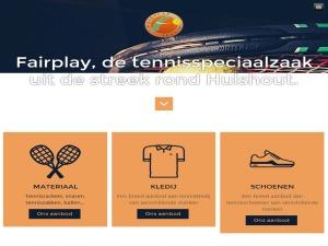 Fairplaytennis_wp_theme template WordPress
