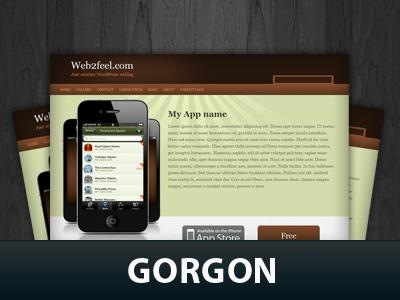 Gorgon WordPress theme