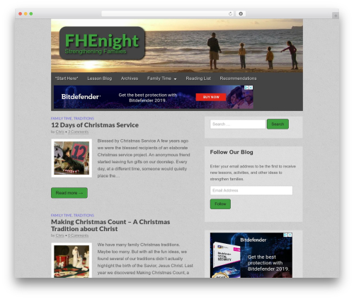 Gridiculous WordPress template free download - fhenight.com