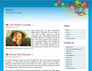 Hana theme free download