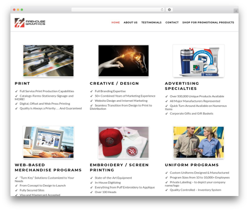 Ibuki template WordPress - fhgraphics.com