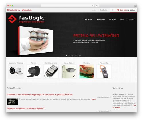 Lookshop WordPress ecommerce theme - fastlogic.com.br
