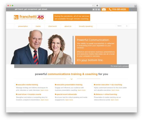 Free WordPress Ditty News Ticker plugin - franchetti.com