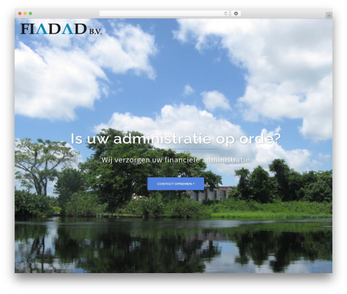 Sydney WordPress theme - fiadad.nl