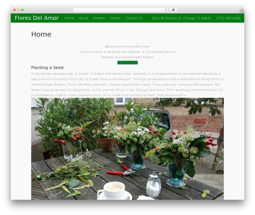Free WordPress Mango Buttons plugin - floresdelamor.com