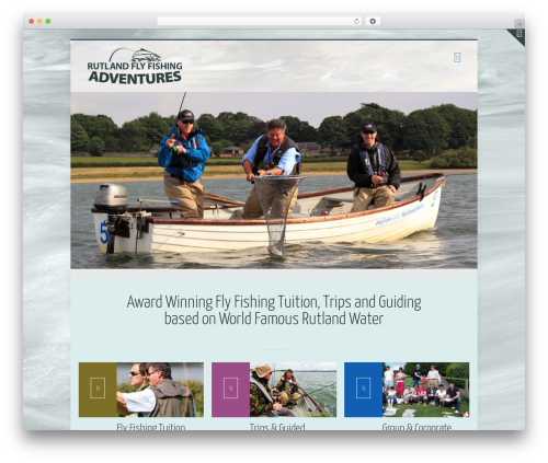 Theme WordPress Betheme - flyfishingintheuk.com