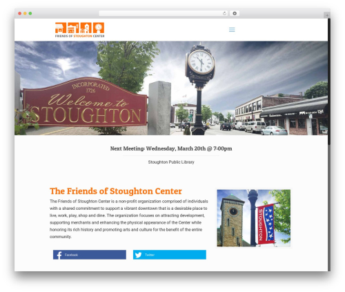 Theme WordPress Betheme - friendsofstoughtoncenter.org
