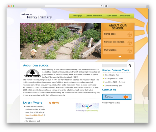 Theme WordPress Peekaboo - fintry.aberdeenshire.sch.uk