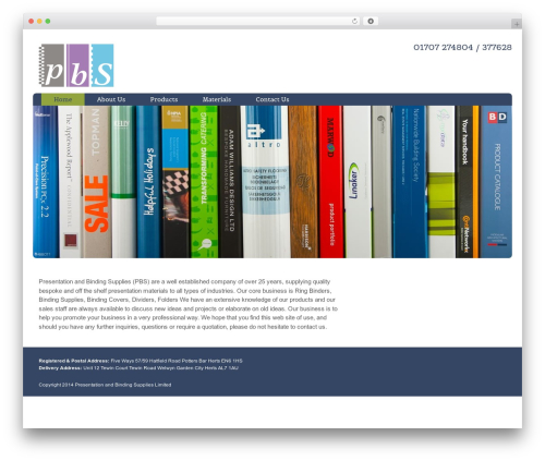 Augustus best WordPress template - pbsltd.biz