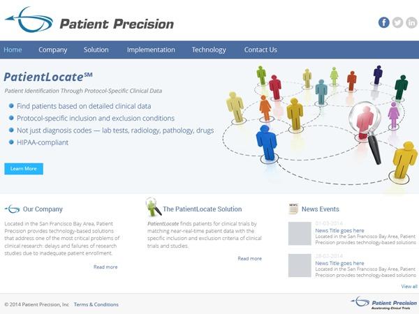 Best WordPress template PatientPrecision