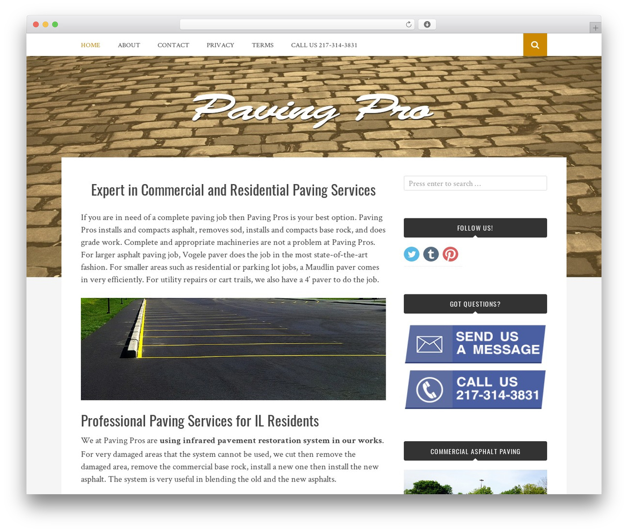 Bulan best free WordPress theme - pavingpro.org