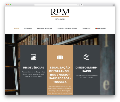 LegalAlien best WordPress theme - rpmadvogados.com