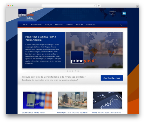PrimeYield WordPress theme - pro-prime.com