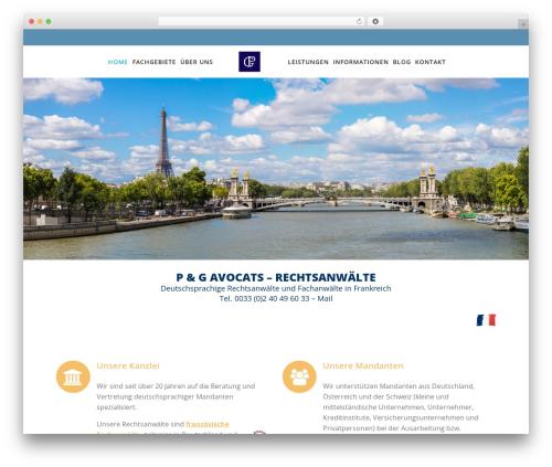 Specular top WordPress theme - pg-anwaelte.fr