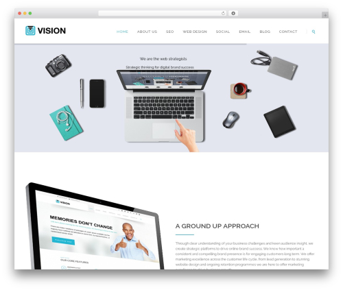 WordPress theme Vision - promotionmarketing.co.uk
