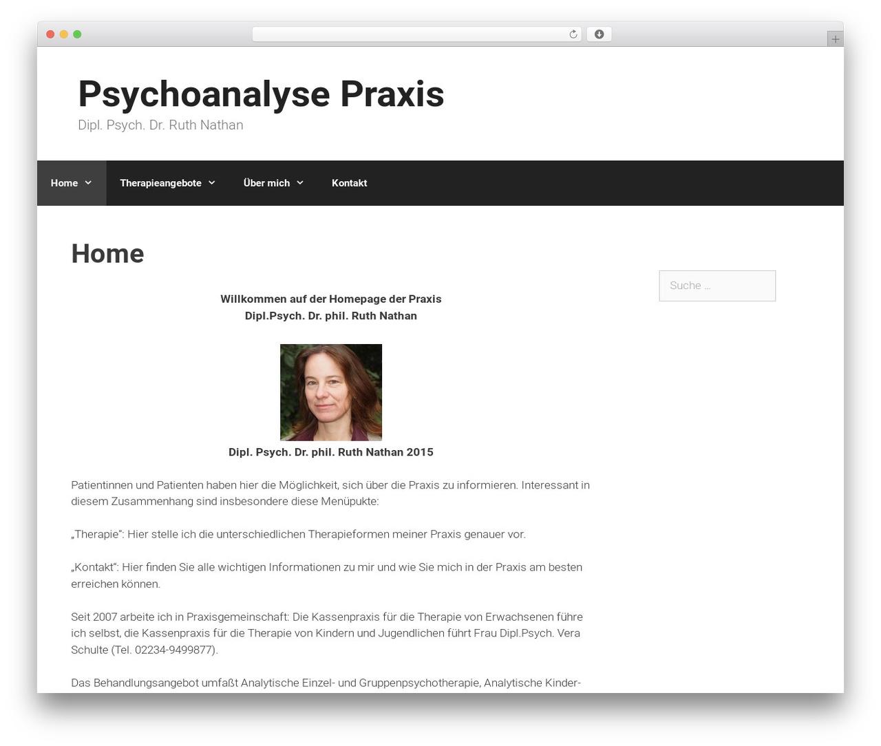 GeneratePress best free WordPress theme - psychoanalyse-praxis.de
