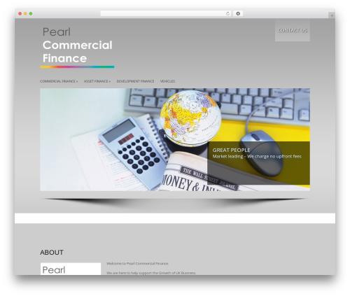 LizardBusiness company WordPress theme - pearlcommercialfinance.co.uk