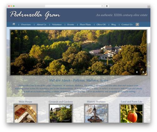 Outreach Pro WordPress theme - pedruxella.com