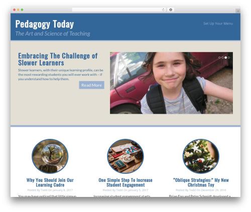 Theme WordPress WP Doppio - pedagogytoday.com