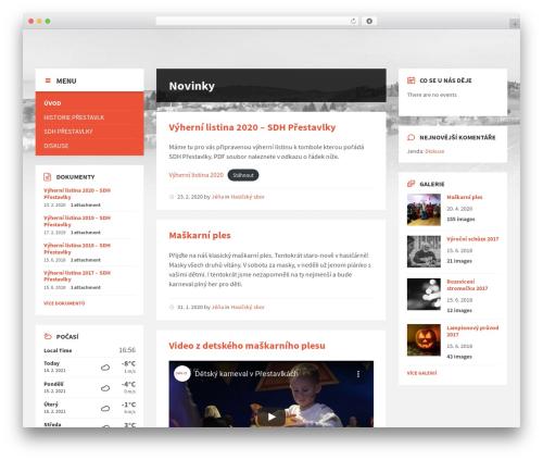 TownPress top WordPress theme - prestavlky.eu