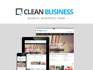 cleanbuz business WordPress theme