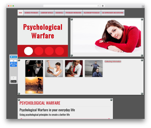 DISCUSSION WordPress template free download - psychological-warfare.com
