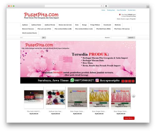 Emporium WordPress theme design - pusatpita.com