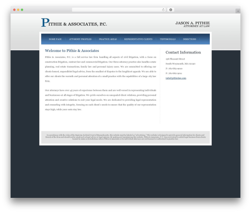 Theme WordPress Emporium - pithielaw.com