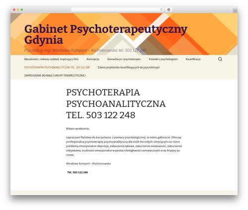 Twenty Thirteen WordPress template free - psycholog-psychoterapia.pl