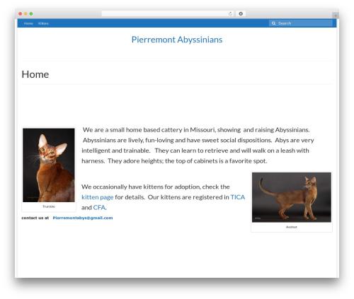 WordPress boldgrid-inspirations plugin - pierremontabyssinians.com