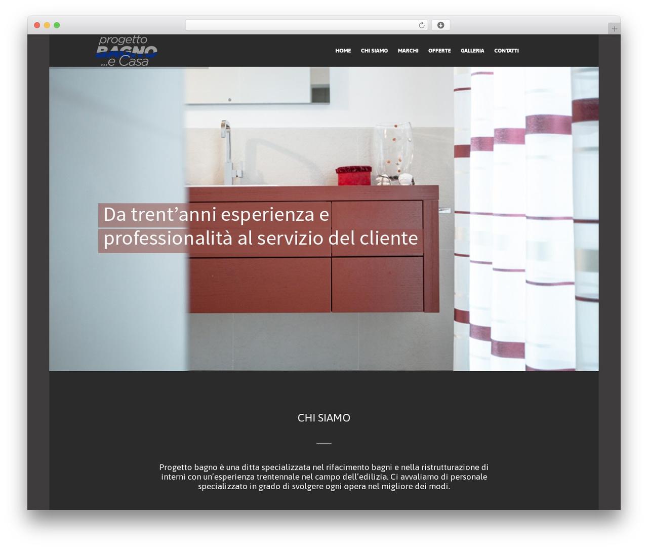 WordPress theme The Retailer - progbagno.it