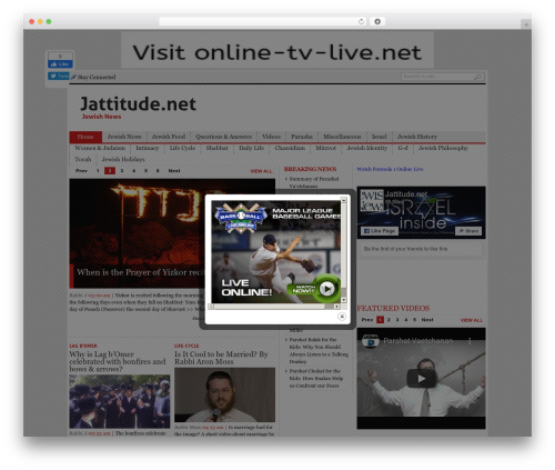 Best WordPress theme Blognews - jattitude.net/en
