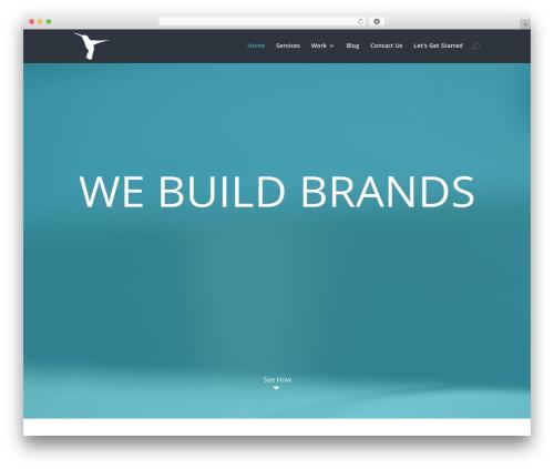 Divi WordPress theme design - jeffsauger.com