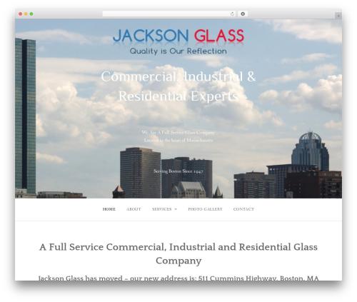 Gateway Plus WordPress template for business - jacksonglassinc.net