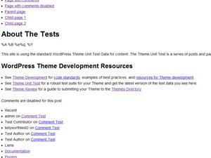 Jaume Mir Theme WordPress theme