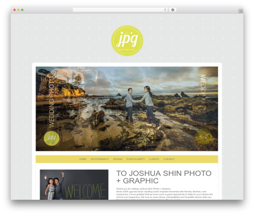 ProPhoto best WordPress theme - joshuashin.com
