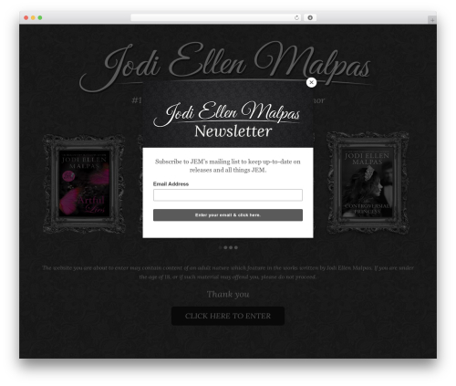 Total WordPress template free - jodiellenmalpas.co.uk