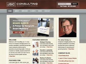 WordPress theme JSC Consulting
