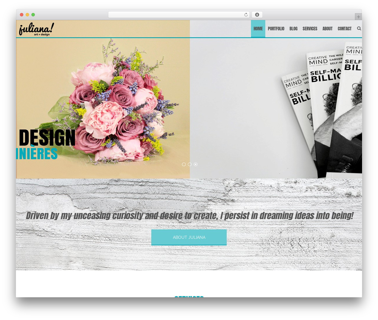 AccessPress Staple Pro WordPress theme - juliana-designs.com