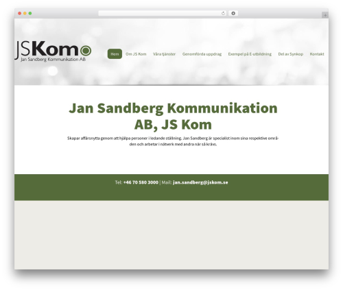 Best WordPress template Altefur - jskom.se