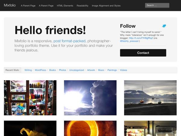 JTO WordPress portfolio template