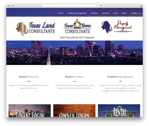 Swiftbiz Lite template WordPress free - johnchunnrealty.com