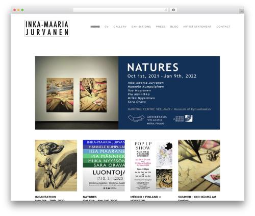 Theme WordPress SohoPRO - jurvanen.com