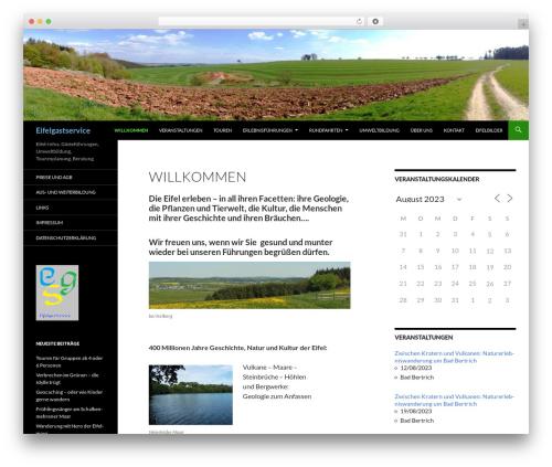 Twenty Fourteen WordPress template free download - eifelgastservice.de