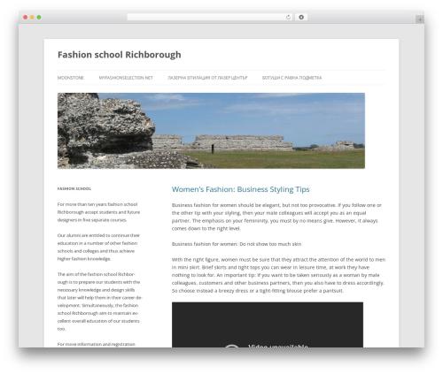 Twenty Twelve WordPress theme download - memoriesatschool.eu