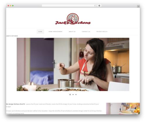 WordPress template Cookd Pro Theme - jackskitchens.com