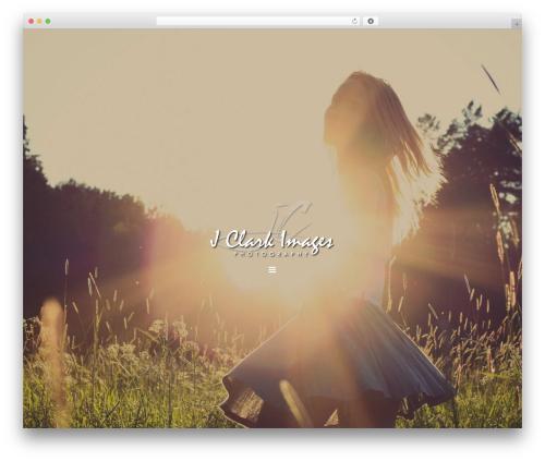 WordPress theme Genesis - jclarkimages.com
