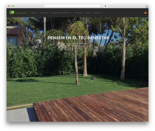 WordPress product-catalog plugin - jardinsnets.es/ca